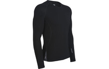 Icebreaker Sprint t shirt Homme LS noir